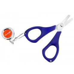 line scissors with retreiver
